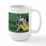 Agility Fun! Large Mug