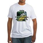 Agility Fun! Fitted T-Shirt