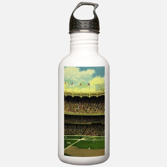 Vintage Sports Basebal Water Bottle