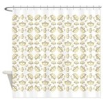 Queen Of Hearts Fabric Pattern 42 in. by 36 in. by