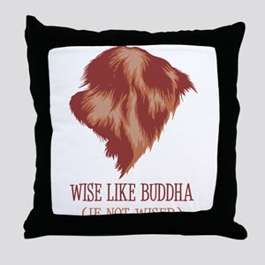 Polish Lowland Sheepdog Throw Pillow