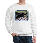 Success Dog Art Sweatshirt