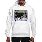 Success Dog Art Hooded Sweatshirt
