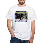 Success Dog Art White T-Shirt