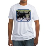 Success Dog Art Fitted T-Shirt