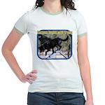 Success Dog Art Jr. Ringer T-Shirt