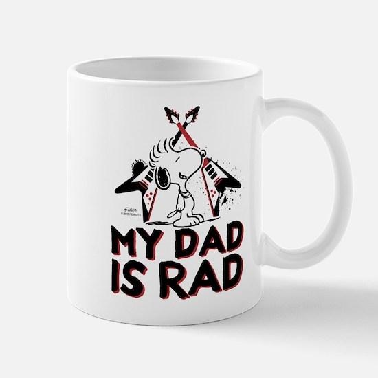 Snoopy: My Dad is Rad Mug
