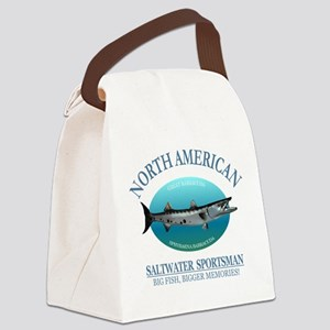 NASM (barracuda) Canvas Lunch Bag