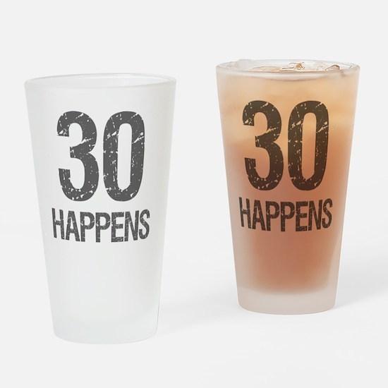 30th Birthday Humor Drinking Glass