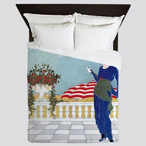VOGUE - A Day At The Beach Queen Duvet