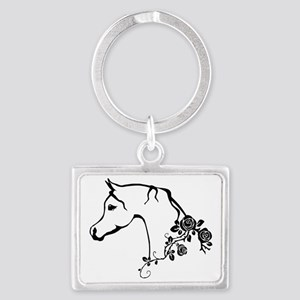 Arabian horse Landscape Keychain