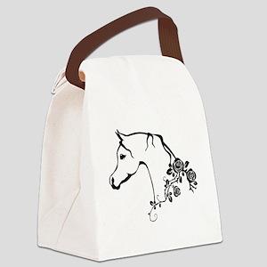 Arabian horse Canvas Lunch Bag