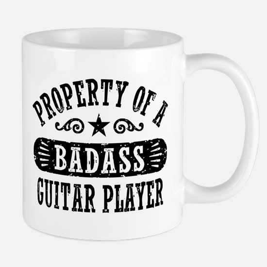Property of a Badass Guitar Player Mug