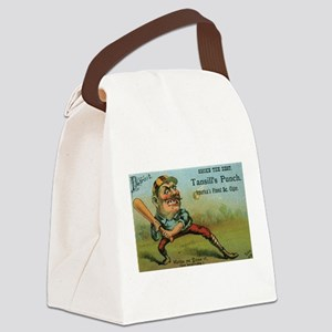 Vintage Cigar Label Canvas Lunch Bag