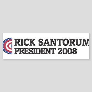 RICK SANTORUM for President 2 Bumper Sticker