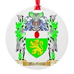 MacGenis Round Ornament