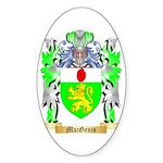 MacGenis Sticker (Oval 50 pk)