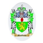 MacGenis Ornament (Oval)