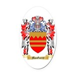 MacGarry Oval Car Magnet