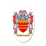 MacGarry 35x21 Oval Wall Decal