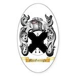 MacGarrigle Sticker (Oval 50 pk)
