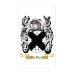 MacGarrell Sticker (Rectangle 50 pk)