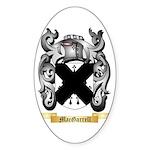 MacGarrell Sticker (Oval 50 pk)