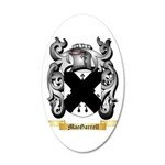MacGarrell 20x12 Oval Wall Decal