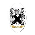 MacGarrell 35x21 Oval Wall Decal
