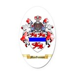 MacGannon Oval Car Magnet