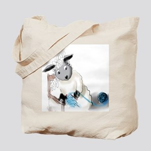 Just Knitting III Tote Bag