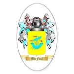 MacFaul Sticker (Oval 50 pk)