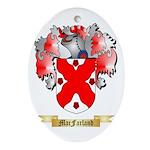 MacFarland Ornament (Oval)
