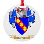 MacFadin Round Ornament