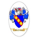 MacFadden Sticker (Oval 10 pk)