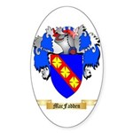 MacFadden Sticker (Oval 50 pk)