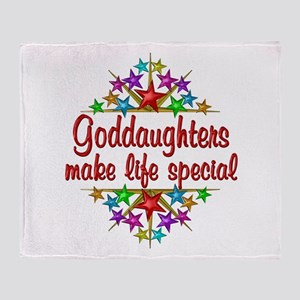 Goddaughters are Special Throw Blanket