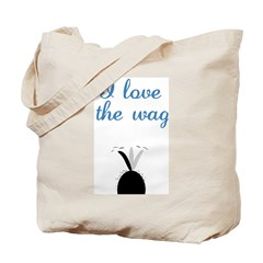 Love the Wag Tote Bag