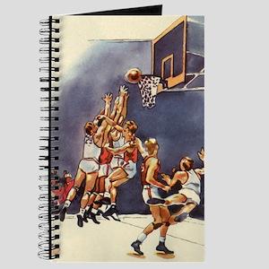 Vintage Sports Basketball Journal
