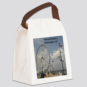 National Harbor Canvas Lunch Bag