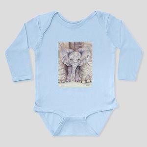 Comfort Zone Long Sleeve Infant Bodysuit