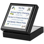 Agility Almost Brag Keepsake Box