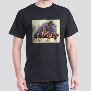 Vintage Sports Basketball T-Shirt