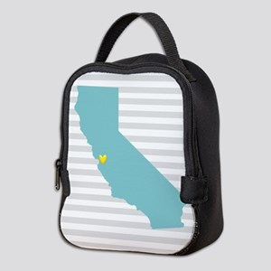 I love San Francisco Neoprene Lunch Bag