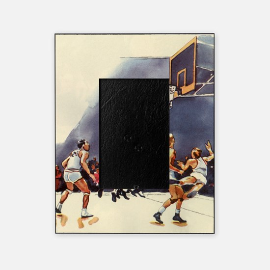 Vintage Sports Basketball Picture Frame
