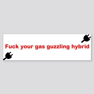 EV Bumper Sticker Bumper Sticker