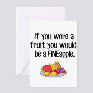 If you were a Fruit Greeting Cards