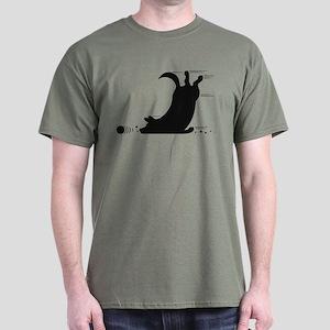 Agility Corgi Dark T-Shirt