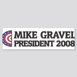 MIKE GRAVEL for President 200 Bumper Sticker