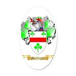 MacEtegart Oval Car Magnet